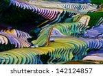 Terraced Rice Field In Vietnam