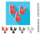 vector illustration of...   Shutterstock .eps vector #1421251727
