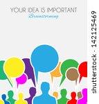 worldwide communication and... | Shutterstock .eps vector #142125469