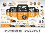 infographic elements   set of... | Shutterstock .eps vector #142125475