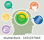 vector illustration of the... | Shutterstock .eps vector #1421257664