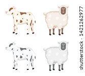 vector illustration of breeding ... | Shutterstock .eps vector #1421262977