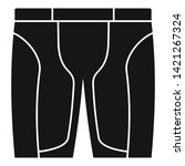 bike shorts icon. simple...   Shutterstock .eps vector #1421267324