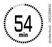 the 54 minutes countdown timer...