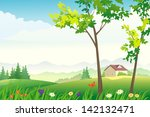 vector illustration of a... | Shutterstock .eps vector #142132471
