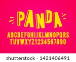 vector illustration modern... | Shutterstock .eps vector #1421406491