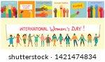 vector illustration of happy...   Shutterstock .eps vector #1421474834