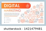 digital marketing banner ...