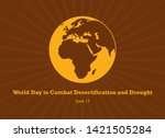 world day to combat...   Shutterstock .eps vector #1421505284