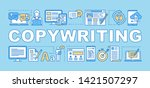 copywriting word concepts...