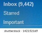 Stock photo inbox 142152169