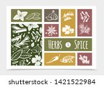 sketch cooking and healthy...   Shutterstock .eps vector #1421522984
