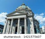 marvelous dome of frederik's... | Shutterstock . vector #1421575607