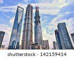 shanghai june 10. skyscraper...   Shutterstock . vector #142159414
