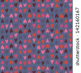 Cute Seamless Pattern With Han...