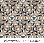 neutral brown  blue  black  and ... | Shutterstock .eps vector #1421620034