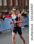 aj bell world triathlon leeds ... | Shutterstock . vector #1421633507