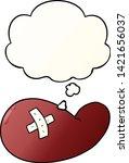 cartoon injured gall bladder...   Shutterstock .eps vector #1421656037