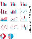 graphs | Shutterstock .eps vector #142167727