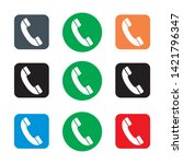 telephone icon symbol vector...