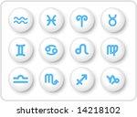 zodiac vector iconset   Shutterstock .eps vector #14218102