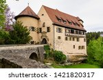 Rabenstein castle in Fraconian Switzerland in Bavaria, Germany.