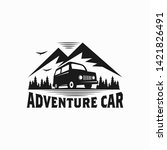 Adventure Car Illustration Logo ...