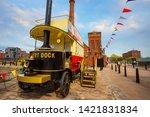 liverpool  uk   may 17 2018 ... | Shutterstock . vector #1421831834