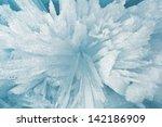 Ice Sticks From Water Of Baika...