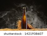 drink mockup series. brown beer ... | Shutterstock . vector #1421938607