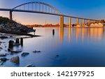 evening long exposure of the... | Shutterstock . vector #142197925