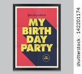 Happy Birthday Invitation ...
