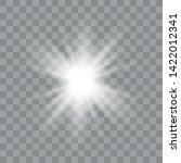 vector illustration of abstract ... | Shutterstock .eps vector #1422012341