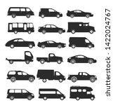 transport design over white... | Shutterstock .eps vector #1422024767