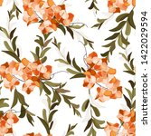 modern abstract floral...   Shutterstock .eps vector #1422029594