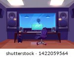 record producer or audio... | Shutterstock .eps vector #1422059564