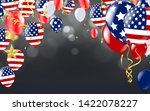 4th of july usa independence... | Shutterstock .eps vector #1422078227