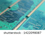 old computer hardware colorful... | Shutterstock . vector #1422098087