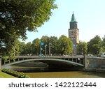 turku cathedral  remarkable... | Shutterstock . vector #1422122444