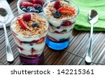 Yogurt Parfait With Fruit.