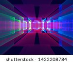 Blue And Purple Abstract Portal ...