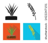isolated object of crop and... | Shutterstock .eps vector #1422247151