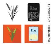 vector design of crop and... | Shutterstock .eps vector #1422253241
