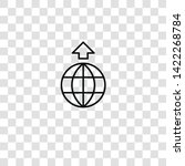 worldwide icon from  collection ... | Shutterstock .eps vector #1422268784
