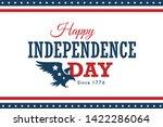 Vector Happy America...