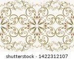 seamless vintage borders.... | Shutterstock .eps vector #1422312107