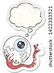 cartoon injured eyeball with...   Shutterstock .eps vector #1422333521