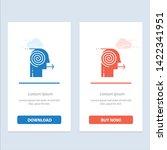 focusing solutions  business ... | Shutterstock .eps vector #1422341951