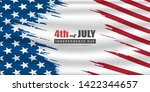 fourth of july. 4th of july... | Shutterstock .eps vector #1422344657