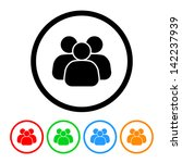 business team people icon... | Shutterstock .eps vector #142237939